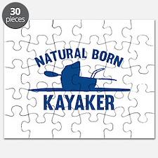Natural Born Kayaker Puzzle