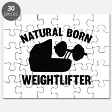 Natural Born Weightlifter Puzzle