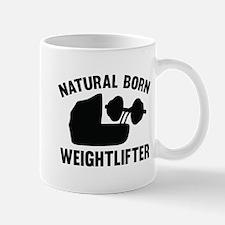 Natural Born Weightlifter Mug