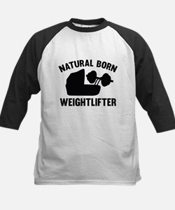 Natural Born Weightlifter Tee