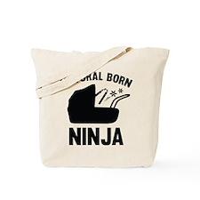 Natural Born Ninja Tote Bag
