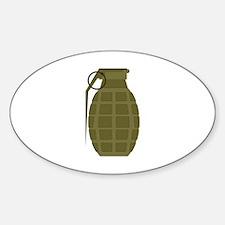 Military Grenade Decal