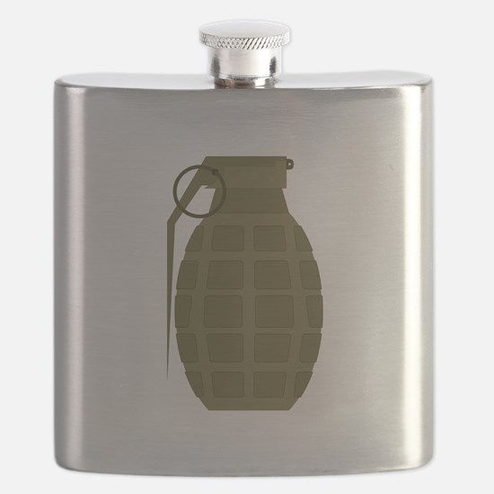 Military Grenade Flask