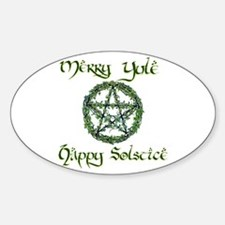 YULE Oval Decal