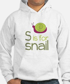 S for Snail Hoodie