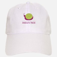 Snails Pace Baseball Baseball Baseball Cap