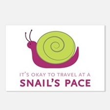 Snails Pace Postcards (Package of 8)