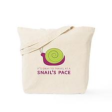 Snails Pace Tote Bag