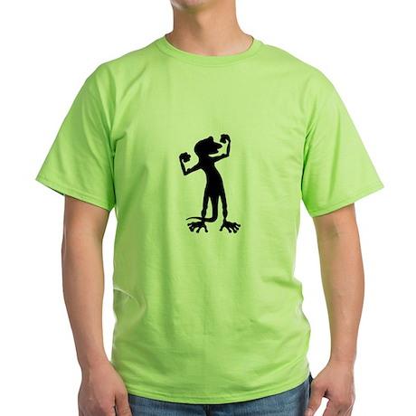 Flexing Gecko Green T-Shirt