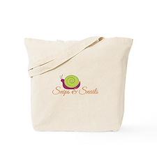 Snip & Snails Tote Bag
