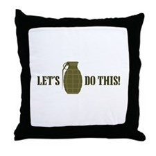 Lets Do This Throw Pillow