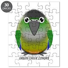 Green Cheek Conure Puzzle