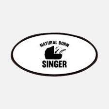 Natural Born Singer Patches