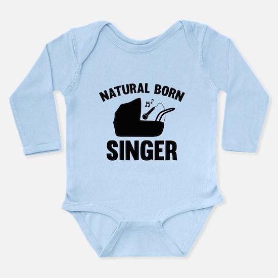 Natural Born Singer Long Sleeve Infant Bodysuit