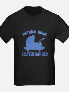 Natural Born Skateboarder T