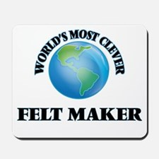 World's Most Clever Felt Maker Mousepad