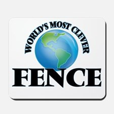 World's Most Clever Fence Mousepad