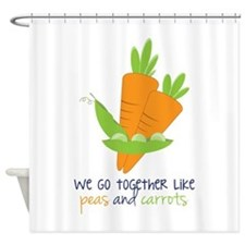 We Go Together Shower Curtain