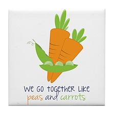 We Go Together Tile Coaster