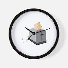 Toaster Master Wall Clock