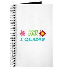 I GLAMP NOT CAMP Journal