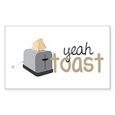 Yeah Toast Decal
