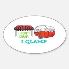 I GLAMP Bumper Stickers