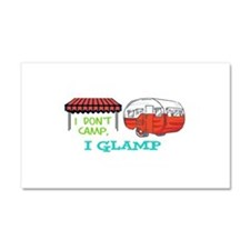 I GLAMP Car Magnet 20 x 12
