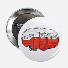 """VINTAGE RED CAMPER 2.25"""" Button (100 pack)"""