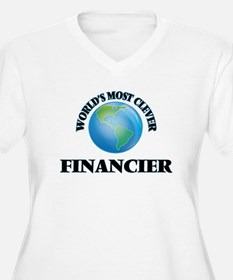 World's Most Clever Financier Plus Size T-Shirt