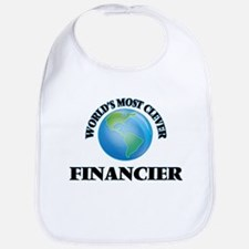World's Most Clever Financier Bib