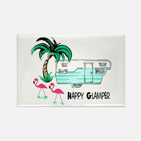 HAPPY GLAMPER Magnets