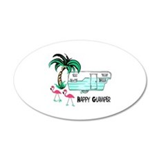 HAPPY GLAMPER Wall Decal