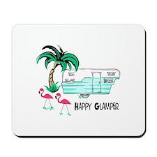 HAPPY GLAMPER Mousepad