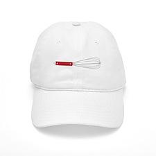 Red Whisk Baseball Baseball Cap