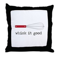 Whisk it Good Throw Pillow