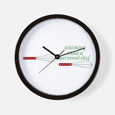 Julias Secret Weapon Wall Clock