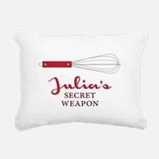 Personal Chef Whisking Rectangular Canvas Pillow