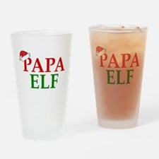 PAPA ELF Drinking Glass