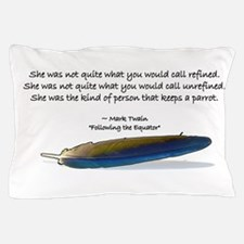 Cute Feather Pillow Case