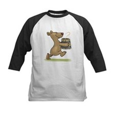 Bear With Soup Baseball Jersey