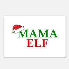 MAMA ELF Postcards (Package of 8)