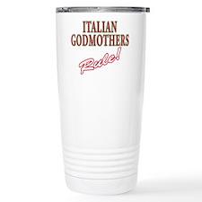 Funny Italian pride Travel Mug