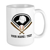 Baseball Large Mugs (15 oz)