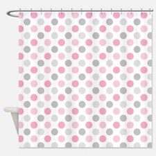 Pink Shower Curtains | Pink Fabric Shower Curtain Liner