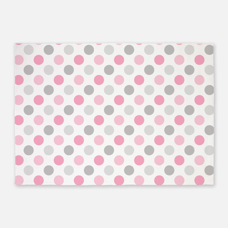Polka Dot Rugs: Pink Polka Dot Rugs, Pink Polka Dot Area Rugs