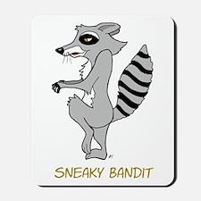 Sneaky Raccoon Mousepad