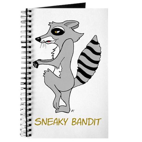 Sneaky Raccoon Journal