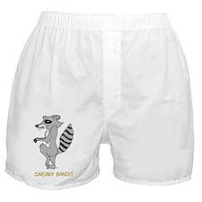 Sneaky Raccoon   Boxer Shorts