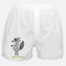 Sneaky Raccoon   Boxer Shorts